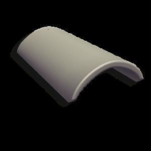 Laineplaadi harjakivi 625mm. värvimata eterniidile