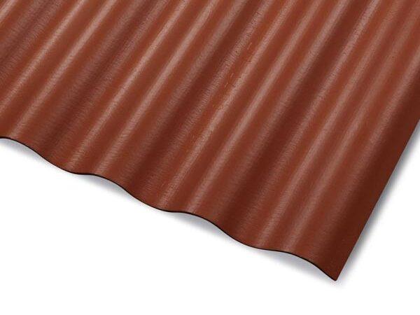KAMPAANIA! Cembrit 625x1150mm, punakas pruun (lõigatud nurkade ja puuritud aukudega)