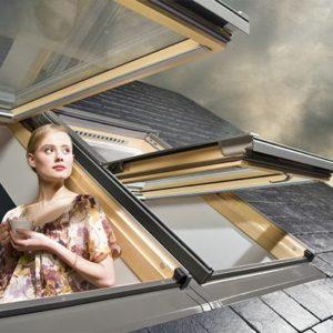 Kahesüsteemsed katuseaknad FAKRO