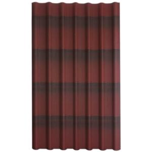 Onduline Tile laineplaat 960x1950mm. punane, roheline, pruun