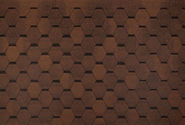 Bituumensindel Tegola pruun, 3 m2 pakk