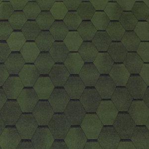 Bituumensindel Tegola roheline, 3 m2 pakk