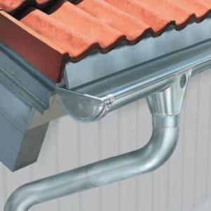 Ümar vihmaveesüsteem tsink kattega