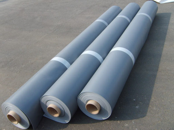 PVC Logicroof V-RP 1,2mm. rull 2,1 x 20m. 42m2  helehall või tumehall