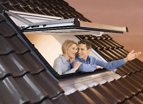 Top-sving avatavad katuseaknad ROTO