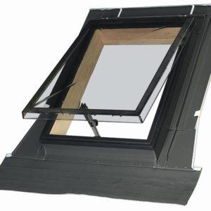 Kvaliteetsed läbipaistvad katuseluugid FAKRO