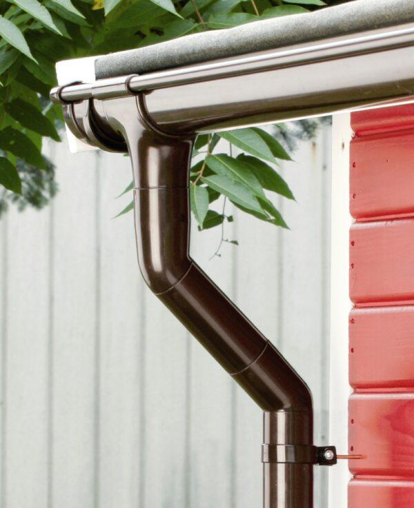 Ümarad PVC vihmaveesüsteemid MARLEY ja ROOFIX