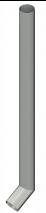Tugevdatud vihmaveetoru suuega 2,0m  d=108