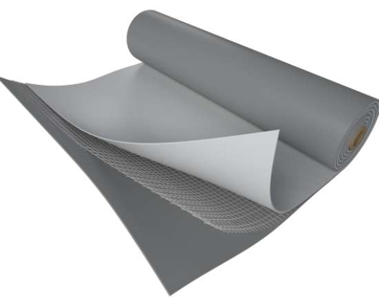PVC FATRAFOL 810/V 1,2mm. rull  2,05 x 25m. 51,25m2 helehall